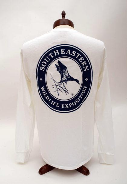 Navy Logo, Long Sleeve- BACK