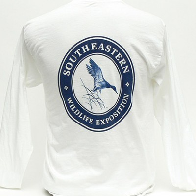 SEWE Navy Logo T-Shirt Back