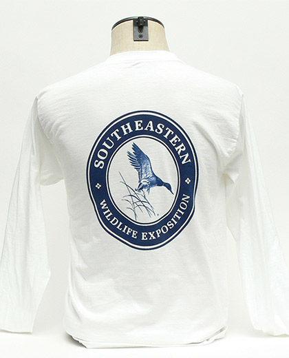 SEWE Navy Logo T-Shirt Back