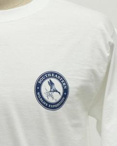 SEWE Navy Logo T-Shirt Front Detail
