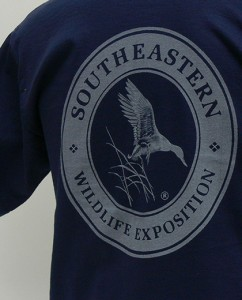SEWE Logo T-Shirt Navy Back Detail