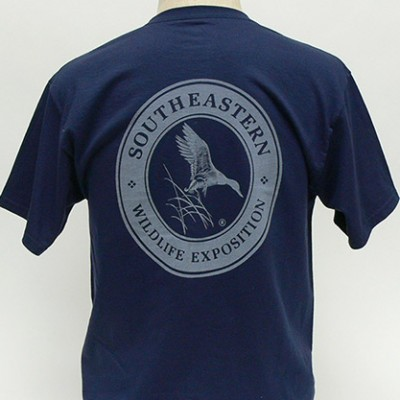 SEWE Logo T-Shirt Navy Back