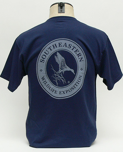 SEWE Logo T-Shirt Navy Back