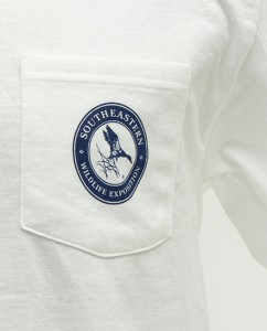 SEWE Navy Logo T-Shirt Pocket