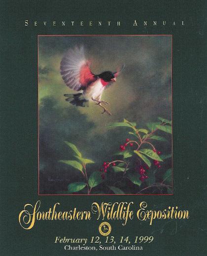 """Rose Breasted Grosbeak"" – 1999 Poster"