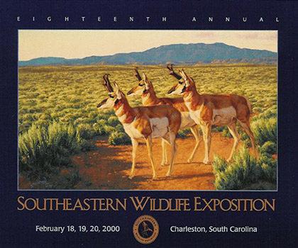 """""""Prong-Horned Antelope"""" – 2000 Poster"""