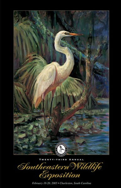 """Island Sentinel"" – 2005 Poster"