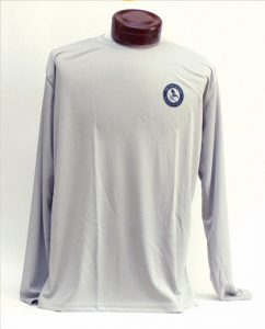 Performance Shirt Gray Front