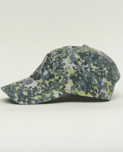 Simms Hat in Tidal Camo Side View