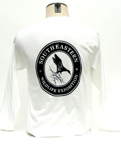 SEWE Black Logo T-Shirt Back