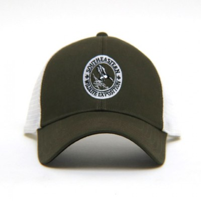 Simms Trucker in Olive Green