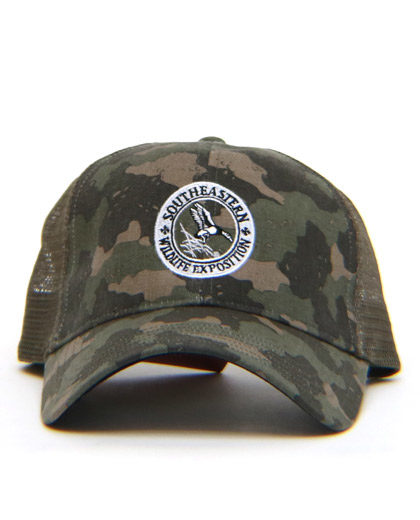 Simms Trucker in Camo