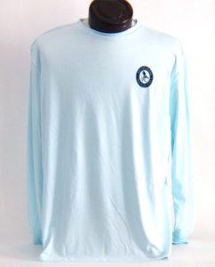 Performance Solar Shirt Arctic Blue Men's Front