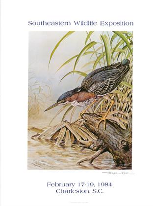 """Green Heron"" – 1984 Poster"
