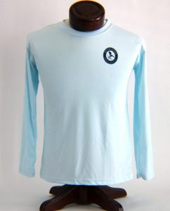 Performance Solar Shirt Arctic Blue Youth Front