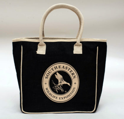 Jute Tote Bag- Retouched
