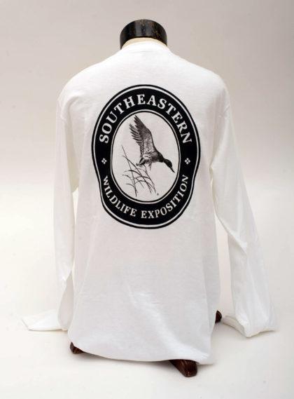 Black Logo, Long Sleeve- BACK